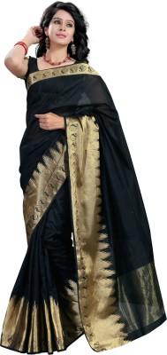 Tagbury Solid Fashion Art Silk Sari