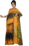 Aryika Woven Tant Handloom Silk Cotton B...