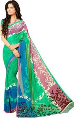 Uber Design Printed Daily Wear Georgette Sari