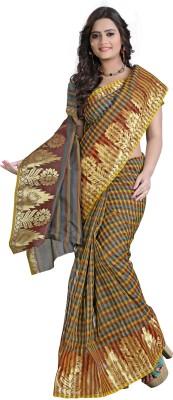 E-Vastram Woven Banarasi Banarasi Silk Sari