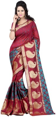 ROSHNI FASHIONS Self Design Fashion Cotton Sari
