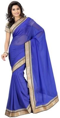 Shree Sanskruti Self Design Bollywood Handloom Chiffon Sari