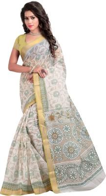 Srujan Printed Bollywood Cotton Sari