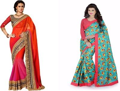 Bindani Studio Self Design Bollywood Lace Sari