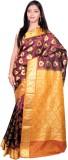 JCN Self Design Mysore Art Silk Saree (M...