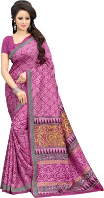 Sunaina Printed Fashion Art Silk Sari