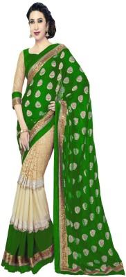 Apka Apna Fashion Embriodered Bollywood Handloom Chiffon Sari