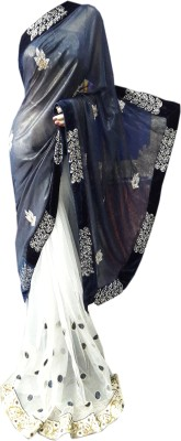 M.S.Center Embriodered Daily Wear Lycra Sari