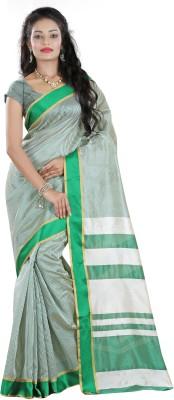 Fashionoma Striped Fashion Polycotton Sari
