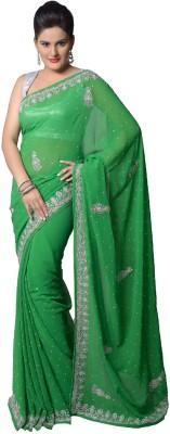 Aarti Saree Embriodered Fashion Georgette Sari