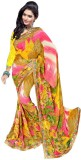 Generation Touch Printed Chanderi Synthe...
