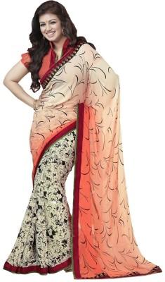 Kaseesh Printed Daily Wear Georgette Sari
