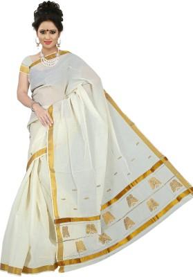 BrindavanSilks Woven Fashion Cotton Sari