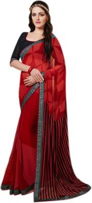 Jhankar Collection Self Design Bollywood Chiffon Sari