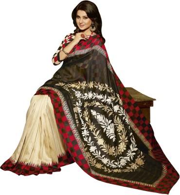 Fashion Boutique Printed Fashion Art Silk Sari