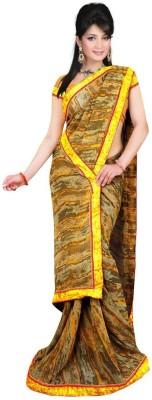 Creative Fashion Printed Fashion Georgette Sari