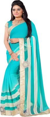 Pawan Tex Self Design Fashion Chiffon Sari