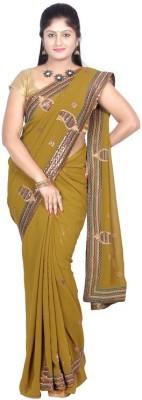 Sri Vari Fashions Embriodered Fashion Chiffon Sari