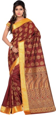 Saree Exotica Woven Fashion Art Silk Sari