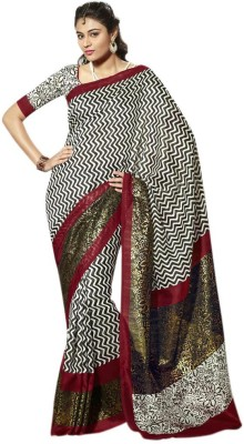 Brijraj Printed Fashion Art Silk Sari
