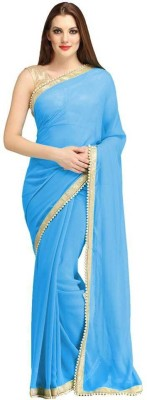 Vishal Fashions Self Design Fashion Chiffon Sari