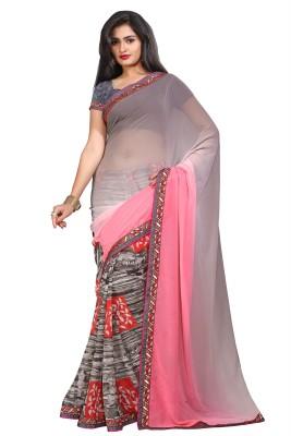 PAHAL FASHION Printed Fashion Georgette Sari
