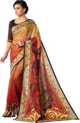 Senorita Fashion Printed Fashion Linen Sari