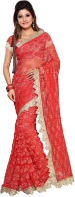 Arch Self Design Fashion Net Sari