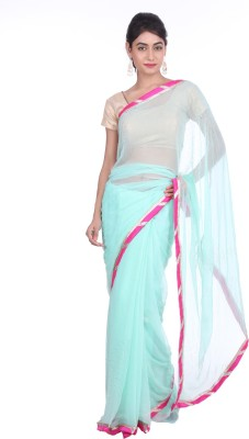 Geroo Embellished Fashion Chiffon Sari