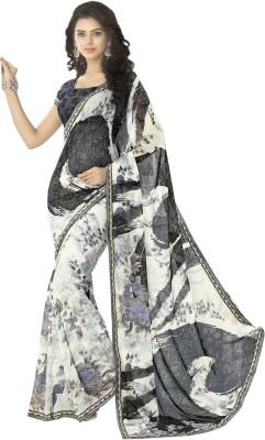 Myntas DXL Paisley Daily Wear Georgette Sari