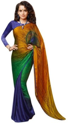 Nena Fashion Embriodered Bollywood Handloom Silk Sari