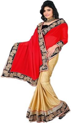 Shubhlaxmi Sarees Plain Bollywood Chiffon Sari