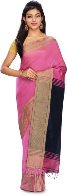 Rudrakshhh Dhakai Embriodered Ikkat Handloom Silk Cotton Blend Sari