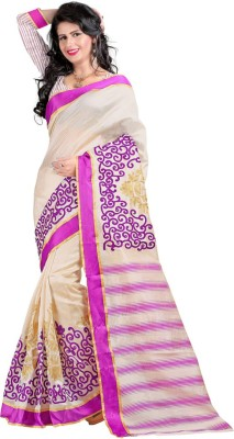 Kyara Printed Bhagalpuri Art Silk Sari