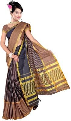 Harsh Sarees Solid Assam Silk Cotton Sari