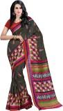 Trendz Printed Fashion Cotton Saree (Mul...