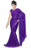 Dhanu Fashion Solid Bollywood Lycra Sare...