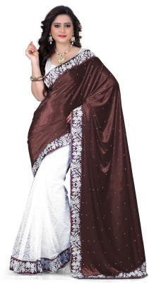 Kuki Fashion Embriodered Daily Wear Velvet Sari