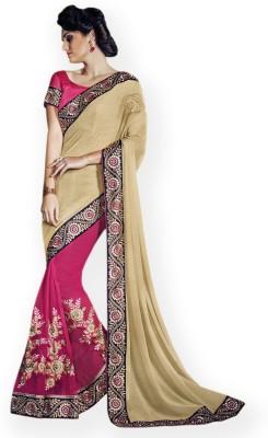 Vidya Fashion Embriodered Fashion Georgette Sari