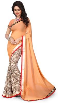Dreambucket Printed Bollywood Georgette Sari