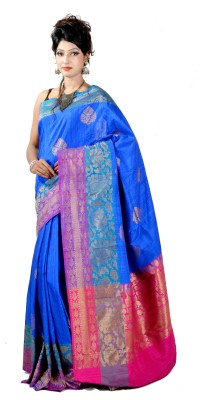 ASP Woven Banarasi Dupion Silk Sari