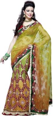 MahotsavSarees Embriodered Fashion Net Sari