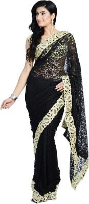 Divas Designerz Self Design Fashion Brasso Sari