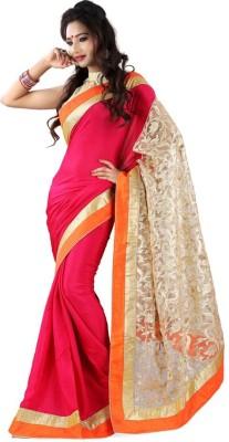 manjula feb Embriodered Banarasi Silk Sari
