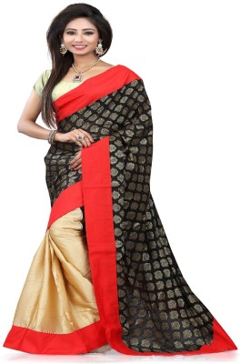 STYLO SAREES Embriodered Bollywood Viscose Sari