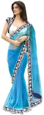 Alethia Enterprise Embriodered Daily Wear Net Sari
