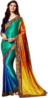 KAAMIRI Printed Fashion Silk Sari