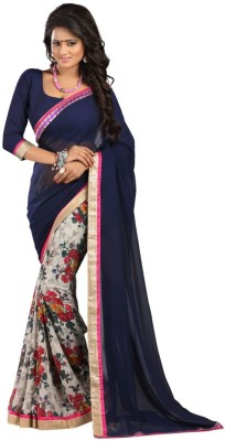 Shoppers Shop Printed Bollywood Georgette Sari