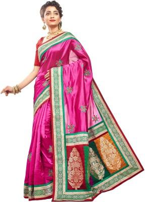 RBSarees Self Design Fashion Pure Silk Sari