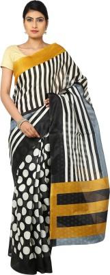 Aks Worldshop Printed Balarampuram Khadi Sari